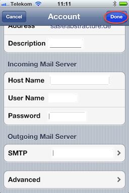 07b confirm settings